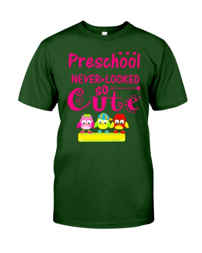Back To School Shirt Preschool Looked Cute
