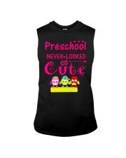 Back To School Shirt Preschool Looked Cute Sleeveless Tee thumbnail