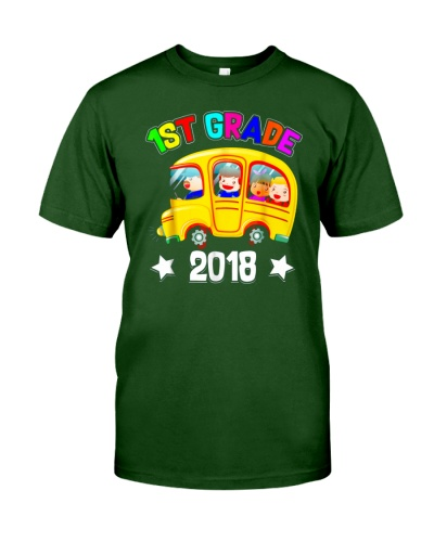 Back To School Shirt Funny 1st Grade 2018 Shirt