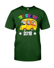 Back To School Shirt Funny 1st Grade 2018 Shirt Classic T-Shirt front