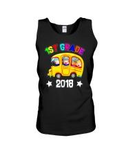 Back To School Shirt Funny 1st Grade 2018 Shirt Unisex Tank thumbnail