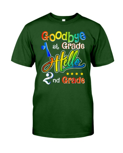 Back To School Shirt Goodbye 1st Grade