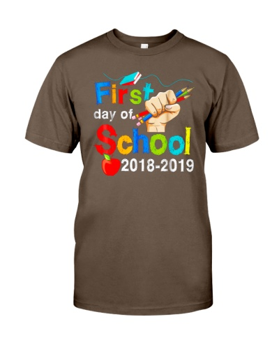 Back To School Shirt First Day Of School 2018 2019