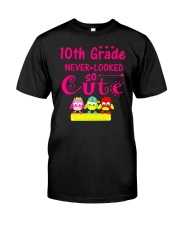 Back To School Shirt Tenth Grade Ten Looked Cute Premium Fit Mens Tee thumbnail