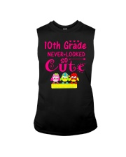 Back To School Shirt Tenth Grade Ten Looked Cute Sleeveless Tee thumbnail