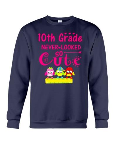 Back To School Shirt Tenth Grade Ten Looked Cute
