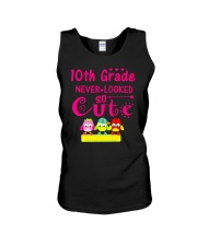 Back To School Shirt Tenth Grade Ten Looked Cute Unisex Tank thumbnail