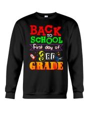 Back To School Shirt First Day Of 3rd Grade Shirt Crewneck Sweatshirt thumbnail