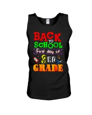 Back To School Shirt First Day Of 3rd Grade Shirt Unisex Tank thumbnail