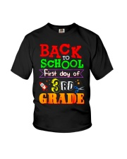 Back To School Shirt First Day Of 3rd Grade Shirt Youth T-Shirt thumbnail