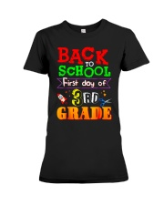 Back To School Shirt First Day Of 3rd Grade Shirt Premium Fit Ladies Tee thumbnail