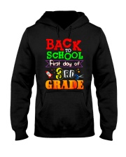 Back To School Shirt First Day Of 3rd Grade Shirt Hooded Sweatshirt thumbnail