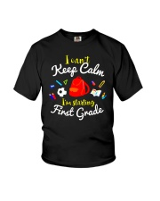 Back To School First Grade Teen Can't Keep Calm Youth T-Shirt thumbnail