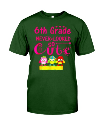 Back To School Shirt Sixth Grade Six Looked Cute