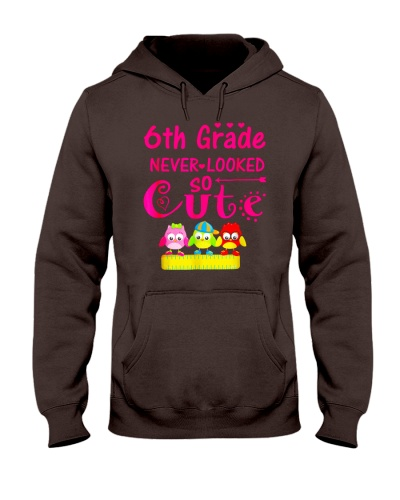 Back To School Shirt Sixth Grade Six Looked Cute