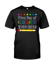 Back To School First Day Of Kindergarten Classic T-Shirt thumbnail