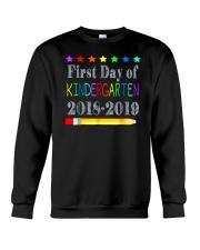Back To School First Day Of Kindergarten Crewneck Sweatshirt thumbnail