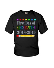 Back To School First Day Of Kindergarten Youth T-Shirt thumbnail