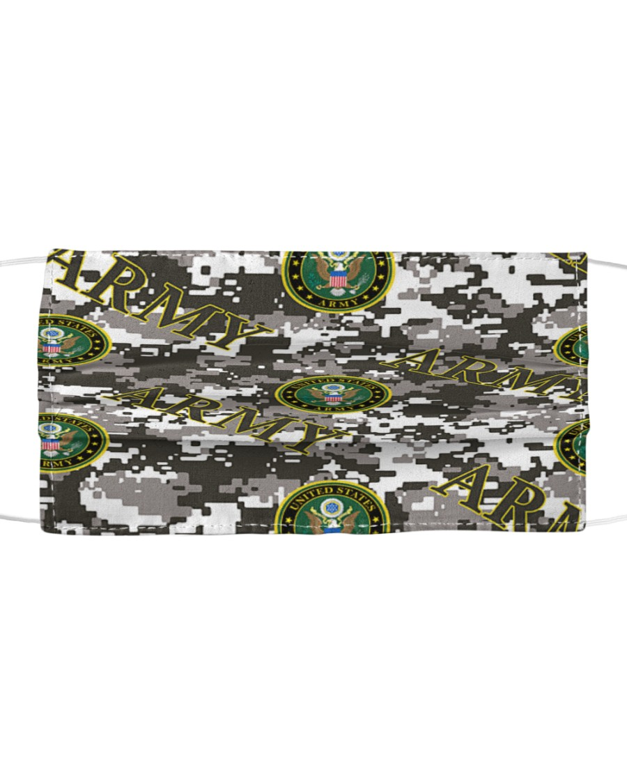 Camo  US Army bandana Cloth face mask