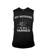 My weekend is all yarned Sleeveless Tee thumbnail