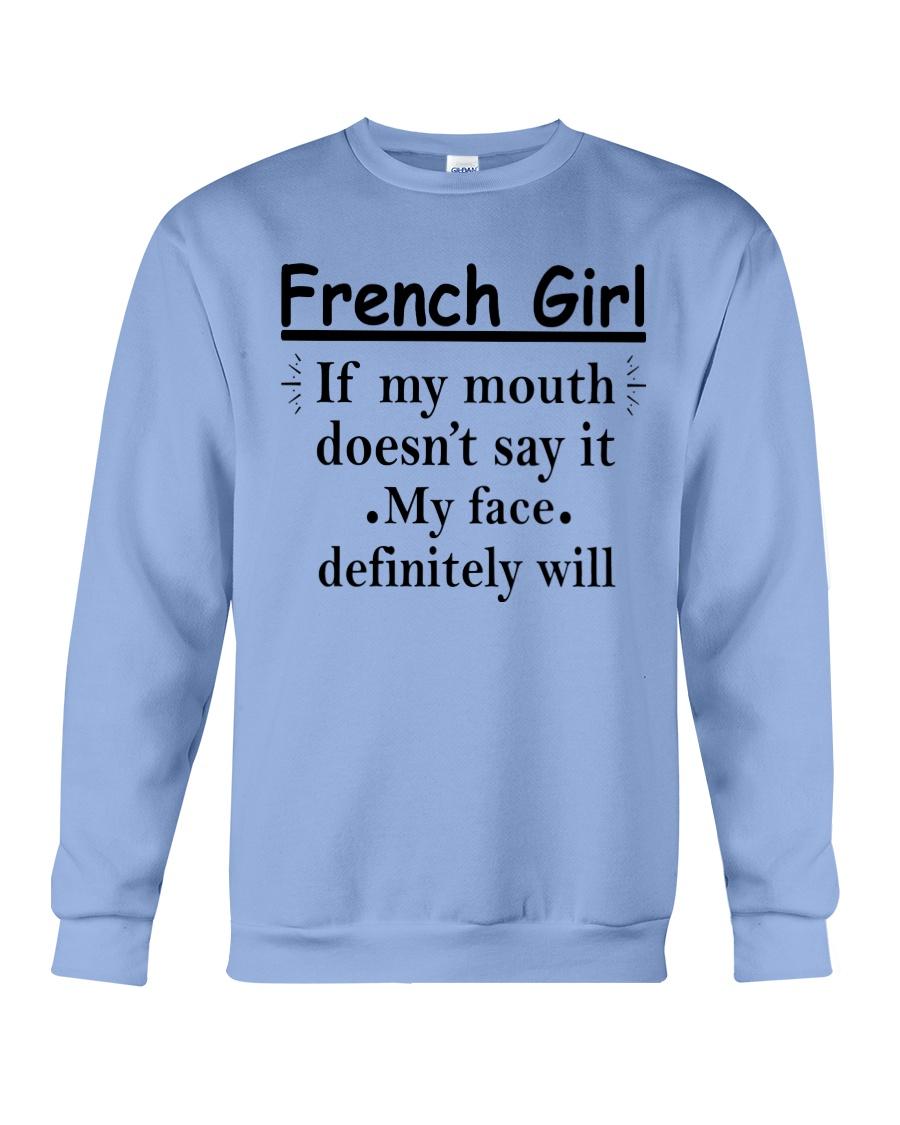 French Girl Crewneck Sweatshirt