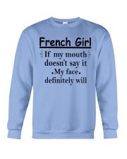 French Girl Crewneck Sweatshirt front