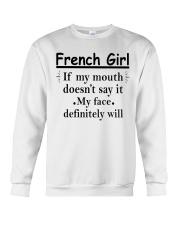 French Girl Crewneck Sweatshirt thumbnail