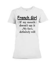 French Girl Premium Fit Ladies Tee thumbnail