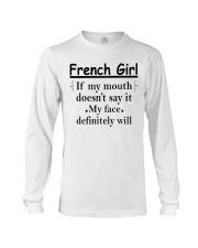 French Girl Long Sleeve Tee thumbnail
