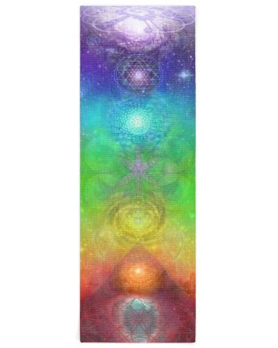 Chakra Hemp Yoga Mat 07