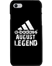Legends are born in August Phone Case tile