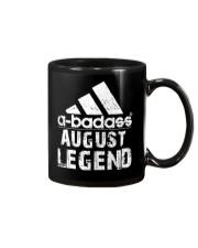 Legends are born in August Mug tile