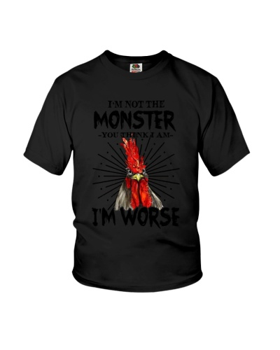 I'm not the monster