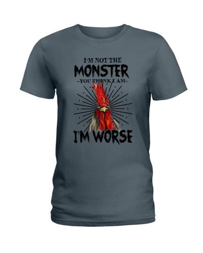 I'm not the monster