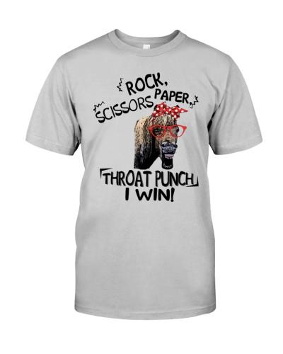 rock scissors paper throat punch i win