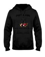 Just a Girl Hooded Sweatshirt tile
