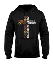 Today Is Thanksgiving Hooded Sweatshirt thumbnail