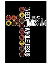 Today Is Thanksgiving 11x17 Poster front