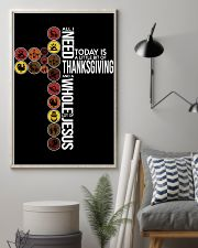Today Is Thanksgiving 11x17 Poster lifestyle-poster-1