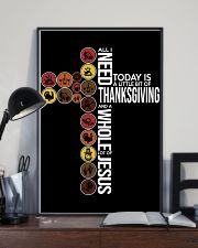 Today Is Thanksgiving 11x17 Poster lifestyle-poster-2