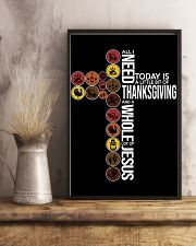 Today Is Thanksgiving 11x17 Poster lifestyle-poster-3