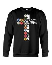 Today Is Farming Crewneck Sweatshirt thumbnail