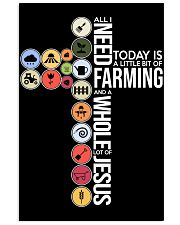 Today Is Farming 11x17 Poster front