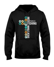 Today Is Fishing Hooded Sweatshirt thumbnail