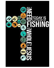 Today Is Fishing 11x17 Poster front