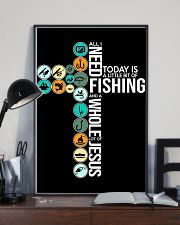 Today Is Fishing 11x17 Poster lifestyle-poster-2