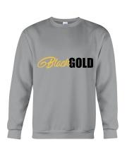 Black Gold Crewneck Sweatshirt front