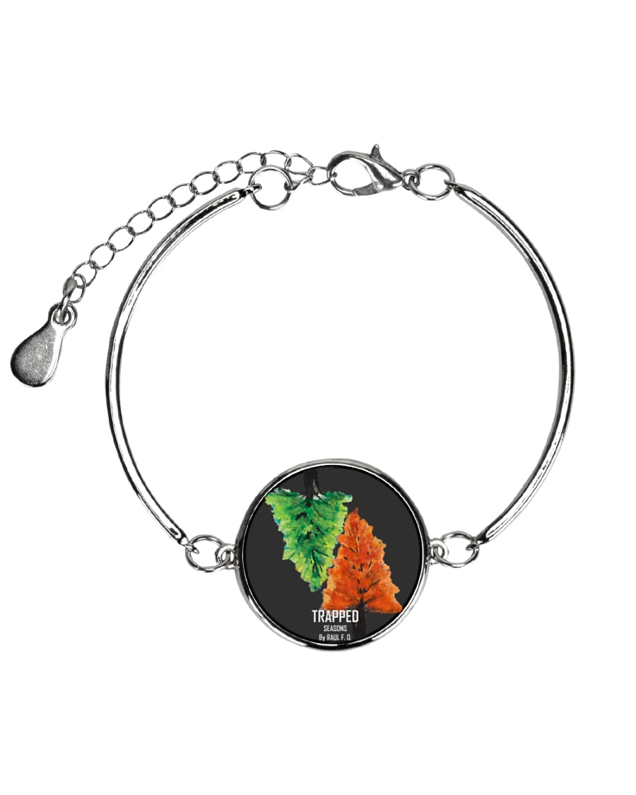 Trapped: Seasons Merch Metallic Circle Bracelet