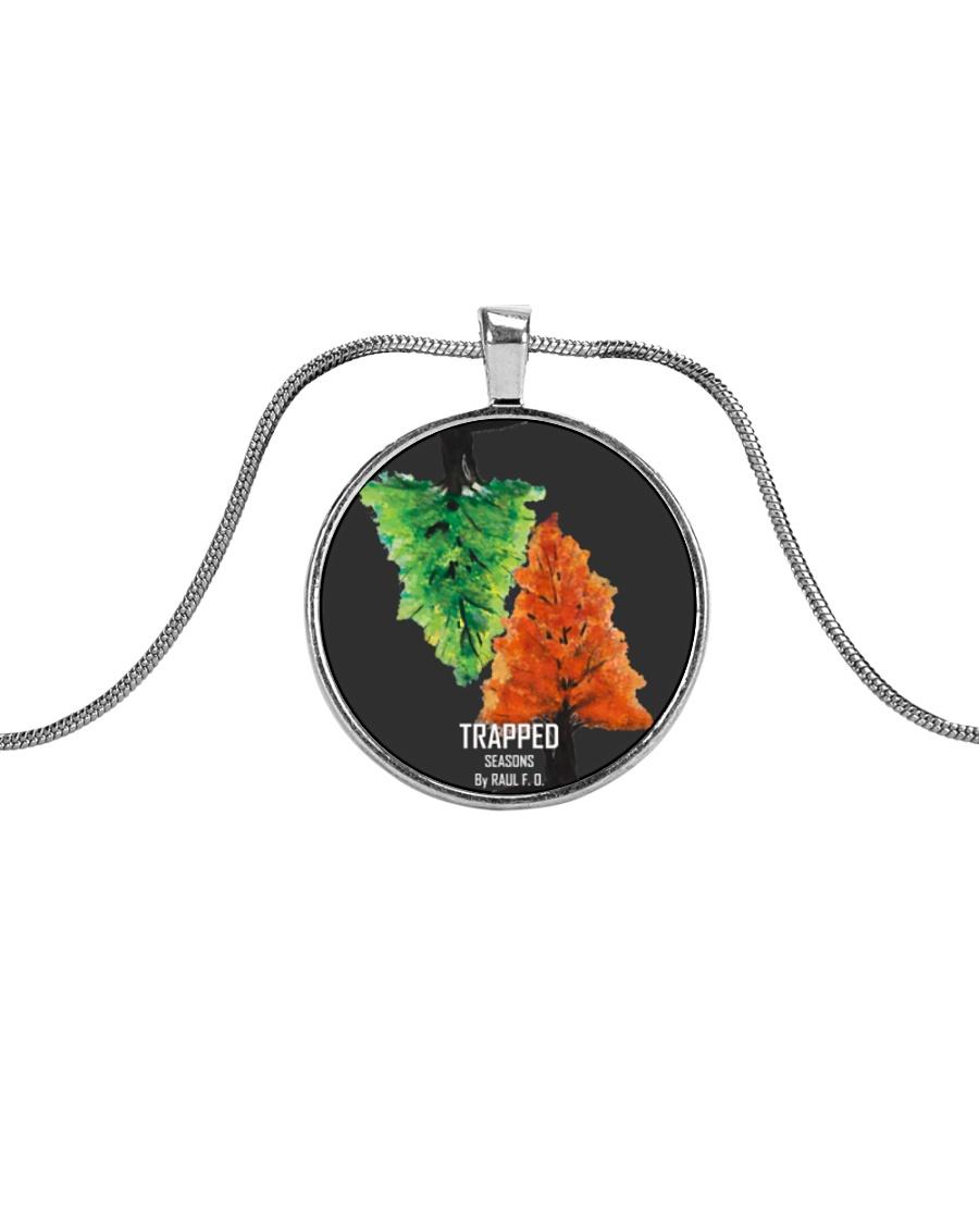 Trapped: Seasons Merch Metallic Circle Necklace