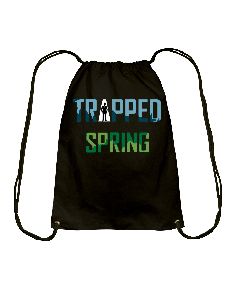 Trapped: Spring Another Debut Drawstring Bag
